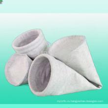 Мешок пылевого фильтра полиэфира nonwoven с чувствовала мешок пылевого фильтра полиэфира