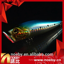 NOEBY 80mm 16g surface plastic lure popper lure
