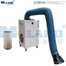 Extrator de fumaça de soldagem móvel industrial portátil