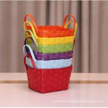 (BC-RB1019) Mini Pure Manual Paper Rope Basket