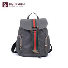 Хек дешевой цене серый цвет школы подростков рюкзак