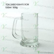 500ml Nice Glass Beer Cup clairement bonne qualité