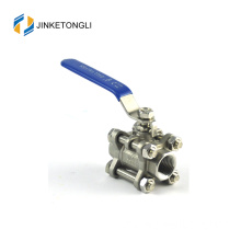 "JKTL3B027 cf8m 1000 wog 3pc spring return cast iron 2 ""ball valve price"