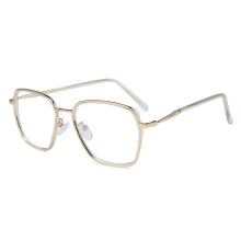 2020 Custom logo fashion woman square glasses eyewear optical frame man