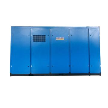 132KW Zweistufiger Schraubenluftkompressor für den Bergbau