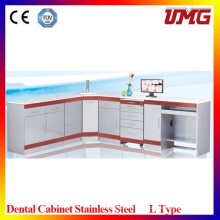 Dental Stainless Steel Hosiptal Clinic Cabinet