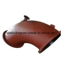 Flange de aço A105 carbono soldada com cotovelo