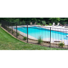 Spray Black Aluminium Swimming Pool Fence