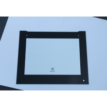 Drilling-hole oven door tempered glass