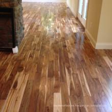 Suelo de madera de acacia natural de madera dura americana