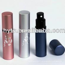 atomizador de perfume de aluminio recargable