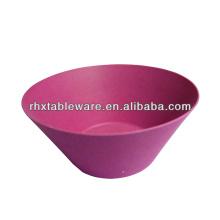 natural living bamboo fiber tableware