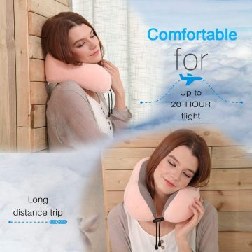 Comfity Travel Neck Pillow espuma de memoria