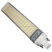 Regulable 5050SMD PLC G24 Bombilla LED Bombilla Downlight E27
