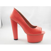 New Design Ladies Chunk Sandals (HCY03-111)