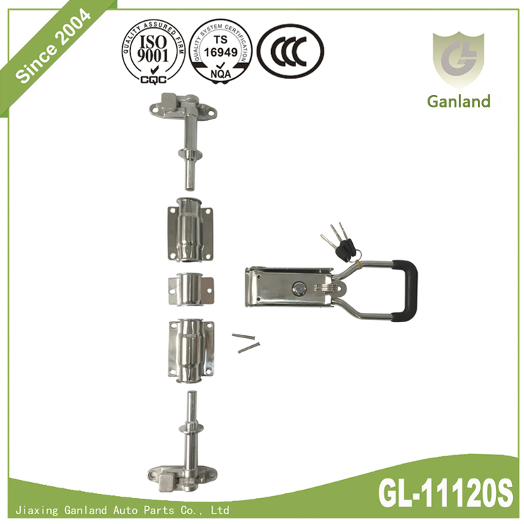 Refrigerated Truck Reefer Rear Door Lock