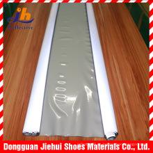 Color gris calor reflexivo transferencia PVC película de fusión