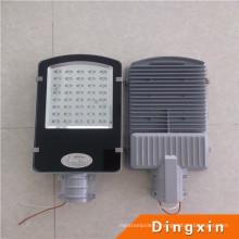 40W-180W Bridgelux puce excellente dissipation thermique LED parking parking éclairage Meanwell LED solaire lampadaire