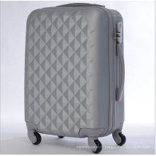 Sacs de voyage de bagage dur de chariot d'ABS de haute qualité
