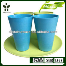 Latest developed fashionable bamboo fiber dinnerware set