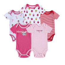 2017 Infant baby girl stripping bodysuit romper jumpsuit playsuit cheap baby girl clothes
