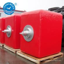 Bóias de apoio offshore usadas no sistema de ancoragem de ponto único (SPM)