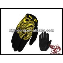 Nuevo estilo guantes de bicicleta hombre con diseño