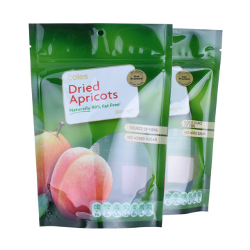 Sacs d'emballage transparents Doypack Pouch Snack 500g