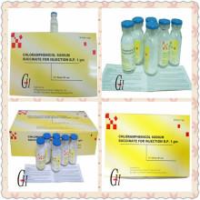 Antibióticos Cloranfenicol Succinato de Sodio para Inyección