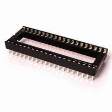 Type connecteur DIP droit à douille en ligne double de 1,778 mm