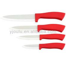 OL019 Керамический нож с ручкой TPR