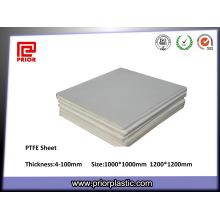 Feuille de garniture de téflon de PTFE de fournisseur de la Chine