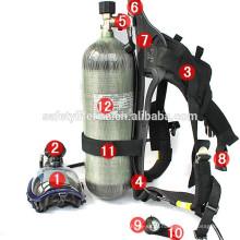 Дыхательный аппарат/пожаротушения управления пожарной/портативный дыхательный аппарат