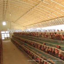 Venda de gaiolas da camada de frango da bateria para a fazenda do Paquistão Made in China