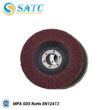 Disco de aleta de corpo de óxido de alumínio auto lixar roda de moagem