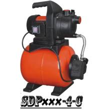 (SDP600-4-C) Casa autocebante jardín Jet Booster bomba de agua con tanque