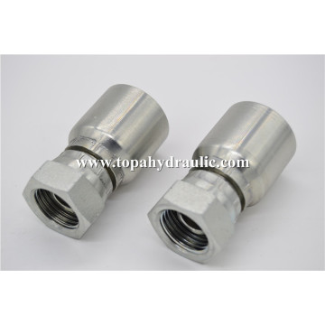 different types premade hydraulic fittings hose