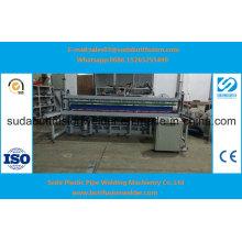 Máquina dobradeira de folha de plástico Zw6000 6000 mm de folha de plástico Ce ISO