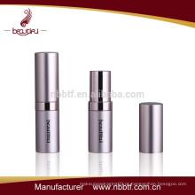 Fashional alumínio cosmético batom recipiente