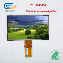"7"" 50 Pin RGB Interface TFT Display Module"