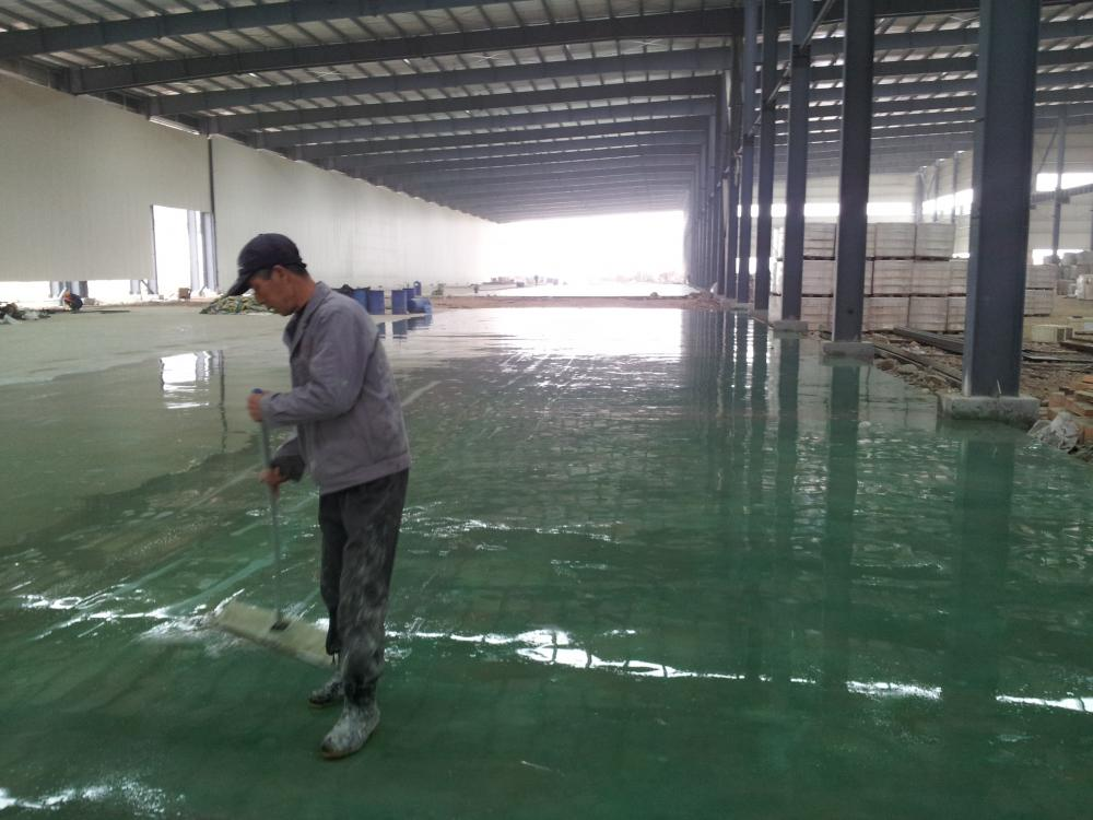 Epoxy Flat Coating Floor Paint For Factory