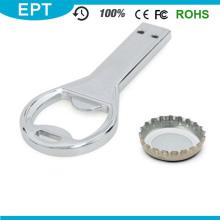 Abridor de botellas de metal clave en forma de unidad flash USB (TD082)