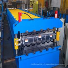 Machine de forme de petit pain à double couche pour toiture métallique ou panneaux muraux