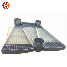 Steel Spiral Stair Tread/Spiral staircase/Spiral Stairway at Best Factory Price