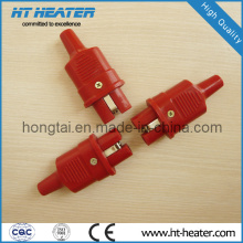 Красная силиконовая высокотемпературная вилка