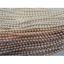9-10mm Rice Freshwater Pear Strands (ES378)