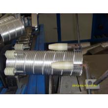 Máquina de duto de folha de alumínio
