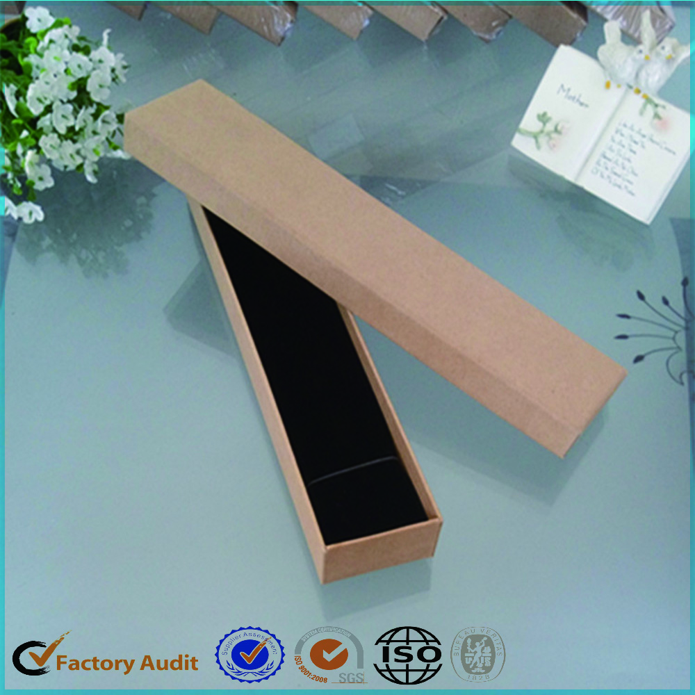Jewelry Box Packaging In Kraft Paper