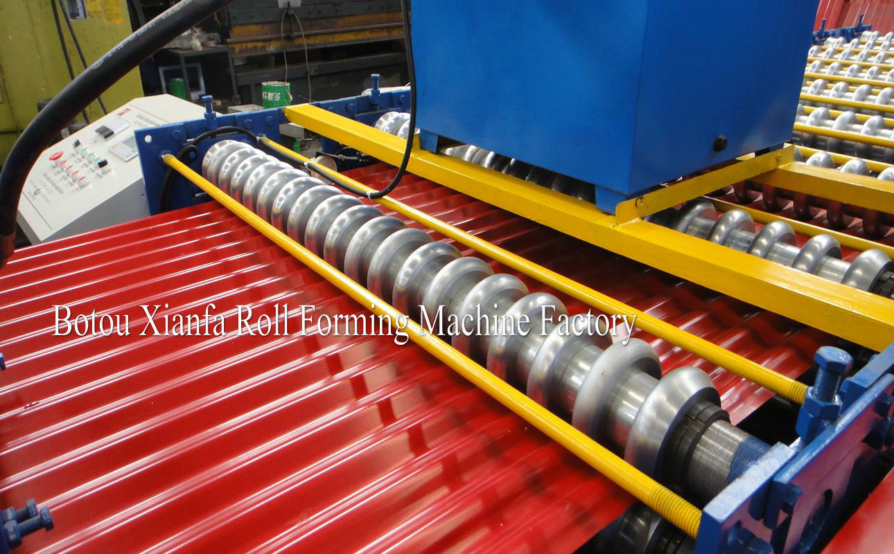 roller and shaft
