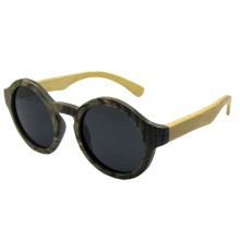 Gafas de sol de madera de moda de la vendimia (sz5689-2)